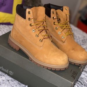 Junior Timberland boots [Wheat color]